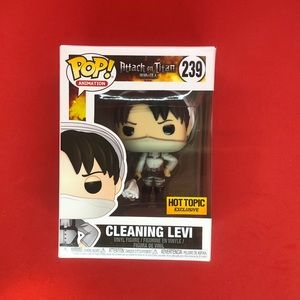 Funko Pop! Animation Cleaning Levi #239 AOT